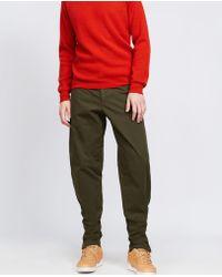 Aspesi - Garment Dyed Cotton Trousers Tobi - Lyst