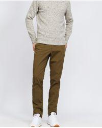 Aspesi - Stretch Cotton Trousers Secco Super Slim - Lyst
