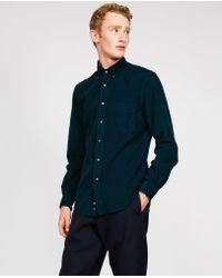 Aspesi - Baby Corduroy Cotton Shirt Button Down Magra - Lyst