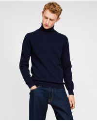 Aspesi - Wool Yak Cashmere Sweater - Lyst