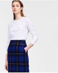 Aspesi - Japanese Garment Dyed Long Sleeve T-shirt - Lyst