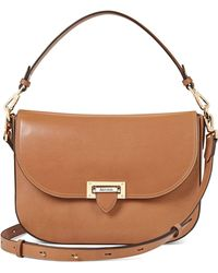 Aspinal - The Letterbox Slouchy Saddle Bag - Lyst