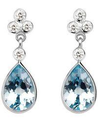 Aspinal - Aphrodite Teardrop Earrings - Lyst