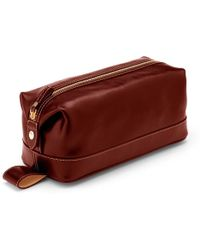 Aspinal - Leather Wash Bag - Lyst