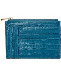 Aspinal - Double Sided Zipped Card & Coin Holder - Lyst
