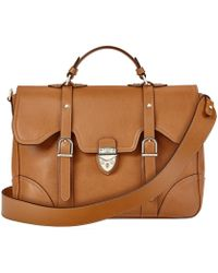 Aspinal - The Large Country Mollie Satchel - Lyst