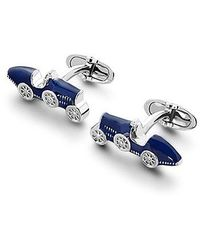 Aspinal - Sterling Silver Classic Car Cufflinks - Lyst