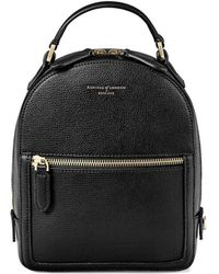 Aspinal - Micro Mount Street Backpack - Lyst
