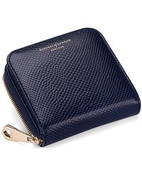 Aspinal - Mini Continental Zipped Coin Purse - Lyst
