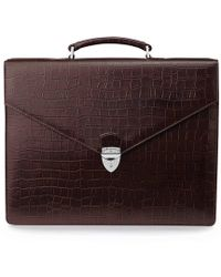Aspinal of London - Executive Briefcase - Lyst