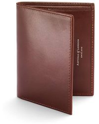 Aspinal - Double Credit Card Case With Notes Pocket - Lyst
