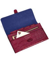 c2f07c7b5d3d Aspinal of London - Classic Travel Wallet - Lyst