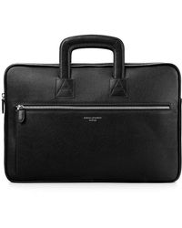 Aspinal - Connaught Document Briefcase - Lyst