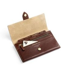 Aspinal of London - Deluxe Travel Wallet - Lyst