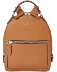Aspinal of London - Small Mount Street Backpack - Lyst