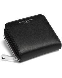 Aspinal of London - Ladies Luxurious Mini Continental Zipped Coin Purse - Lyst