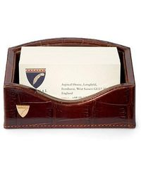 Aspinal - Business Card Holder - Lyst