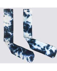 Assembly - Blue Tie Dye Sock - Lyst