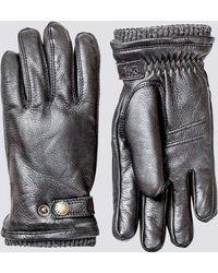 Hestra - Leather Utsjö Glove - Lyst