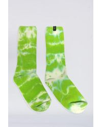 Assembly - Cotton Tie Dye Sock - Green - Lyst