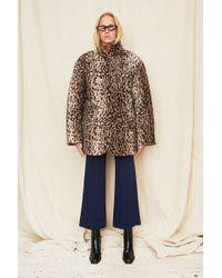 Collina Strada - Leopard Shelter Jacket - Lyst