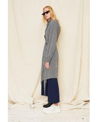Assembly - Silk Stripe Scarf Shirt Dress - Lyst