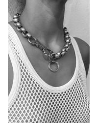 Martine Ali - Texture Link Necklace - Lyst