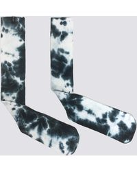 Assembly - Dark Blue Tie Dye Sock - Lyst