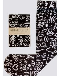 Strathcona - Nylon Sunday Doodle Sock - Lyst