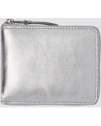 Comme des Garçons - Leather Silver Sa-7100g - Lyst