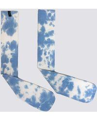 Assembly - Light Blue Tie Dye Sock - Lyst