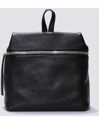Kara Large Pebbled Leather Backpack