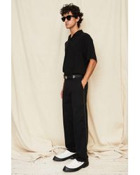 Assembly - Black Straight Leg Pant - Lyst