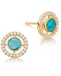 Astley Clarke Opal Mini Icon Aura Studs