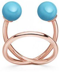 Astley Clarke - Turquoise Midi Yves Ring - Lyst