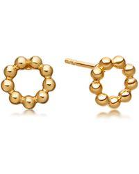 Astley Clarke - Beaded Stilla Stud Earrings - Lyst