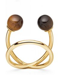 Astley Clarke - Tigers Eye Yves Ring - Lyst