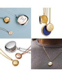 Astley Clarke - Tiny Love Disc Pendant Necklace - Lyst