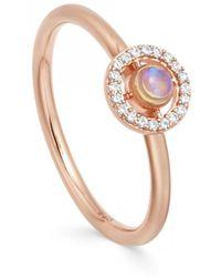 Astley Clarke - Opal Mini Icon Aura Ring - Lyst