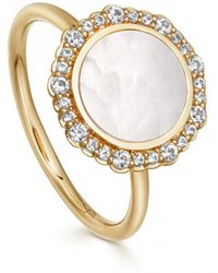 Astley Clarke - Luna Mother Of Pearl Ring - Lyst
