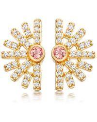 Astley Clarke - Setting Sun Stud Earrings - Lyst