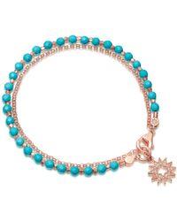Astley Clarke - Turquoise Sun Biography Bracelet - Lyst