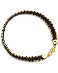 Astley Clarke - London Nights Woven Biography Bracelet - Lyst