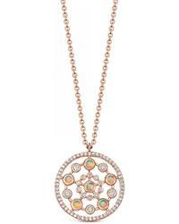 Astley Clarke - Icon Nova Medium 14ct Rose-gold - Lyst
