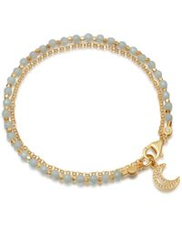 Astley Clarke - Amazonite Moon Biography Bracelet - Lyst