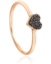 Astley Clarke - Little Heart Ring - Lyst