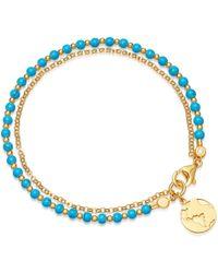 Astley Clarke - Turquoise Earth Biography Bracelet - Lyst
