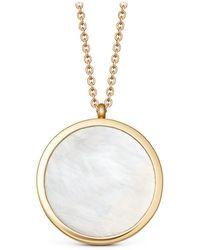 Astley Clarke - Large Mother Of Pearl Slice Stilla Locket Necklace - Lyst