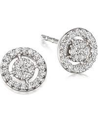 Astley Clarke | Mini Icon Aura Stud Earrings | Lyst
