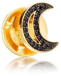 Astley Clarke - Black Spinel Moon Biography Pin - Lyst